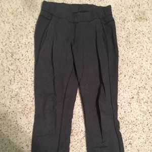 Lululemon gray cotton joggers